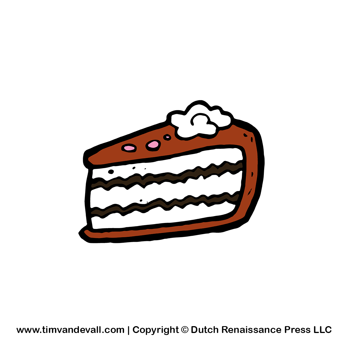 Slice Of Cake Illustrations, Royalty-Free Vector Graphics ...  |Cake Slice Clipart Black And White