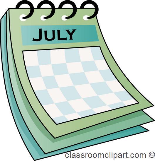 Clip Art Calendar July : Calendar clipart panda free images