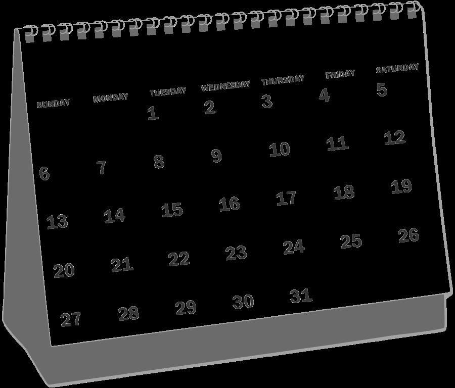 Calendar Clip Art : Calendar clipart panda free images