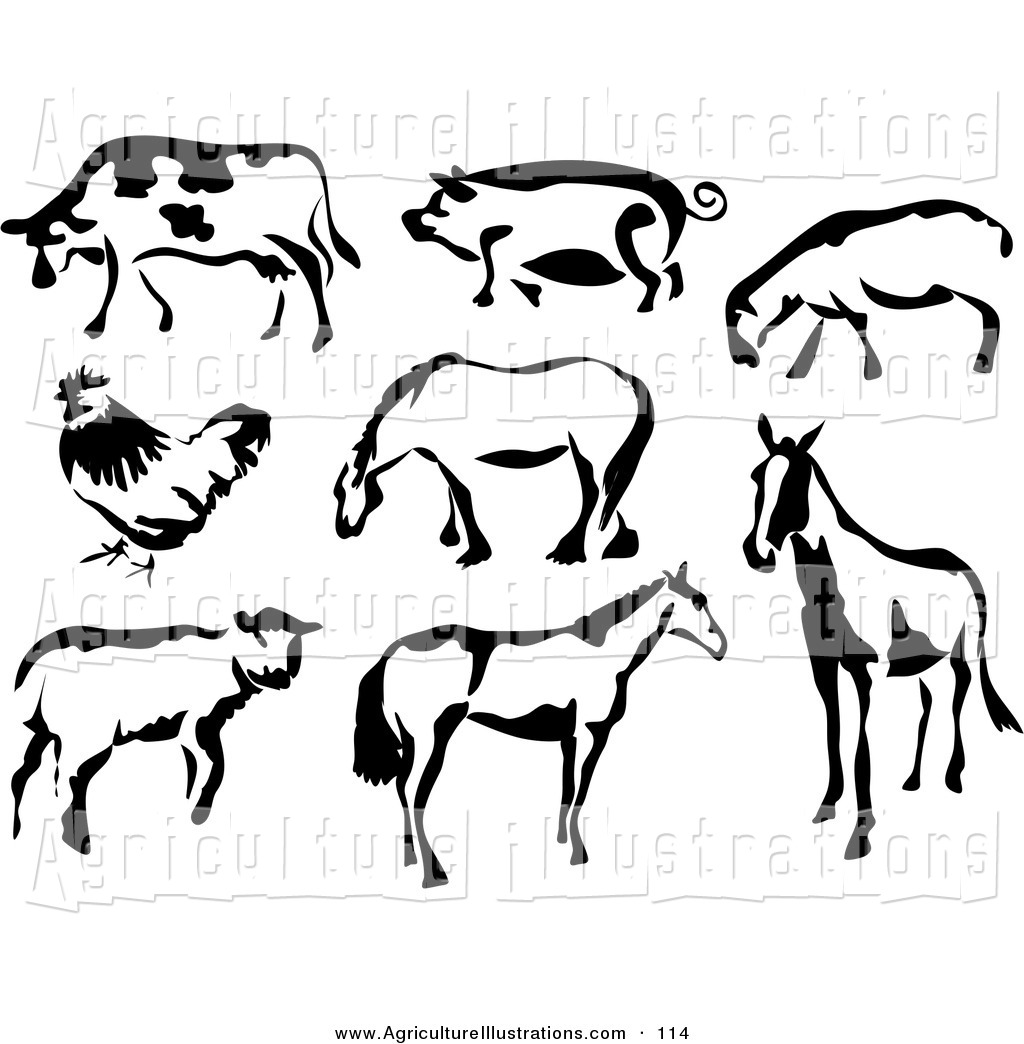 calf%20clipart%20black%20and%20white