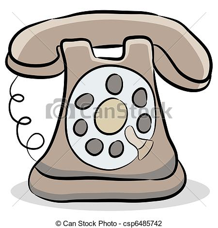 calling clipart can stock photo_csp6485742