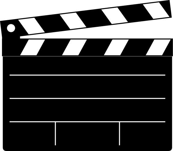 Clapper-board clip art free | Clipart Panda - Free Clipart Images