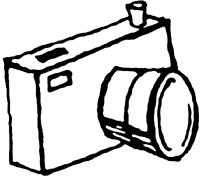Camera Clip Art Black And White Clipart Panda Free Images Rh Clipartpanda Com Polaroid Digital