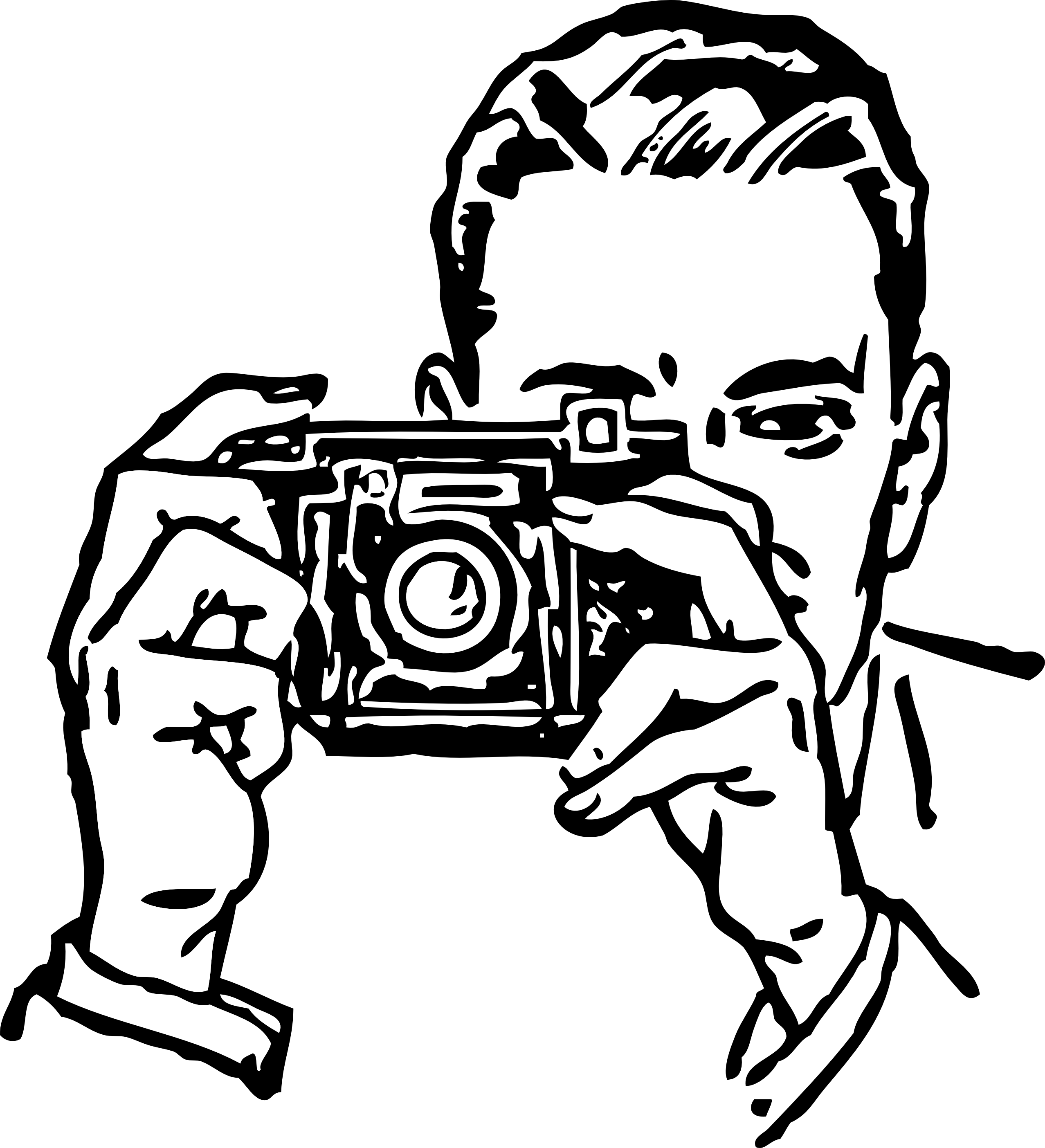 Line Art Camera : Camera clipart black and white png panda free