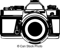 Camera Clip Art Black And White | Clipart Panda - Free ...
