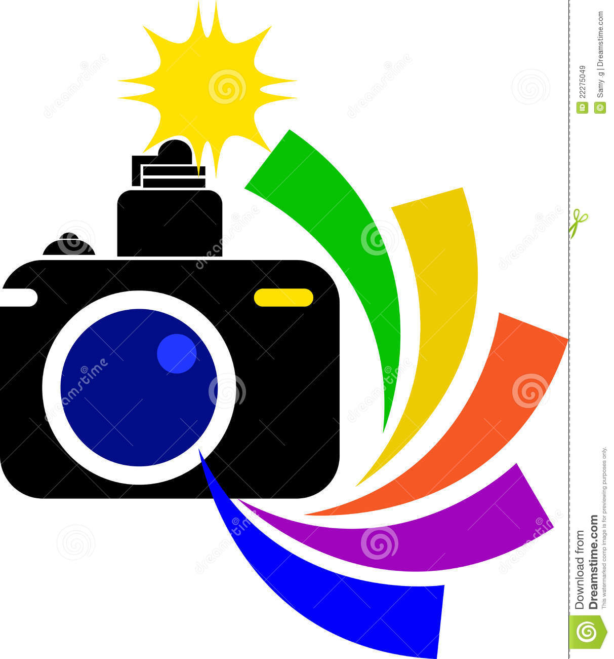Clipart Camera Flash