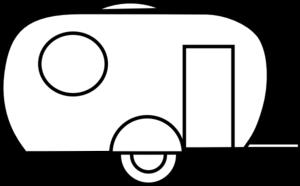 Camper clip art - vector clip