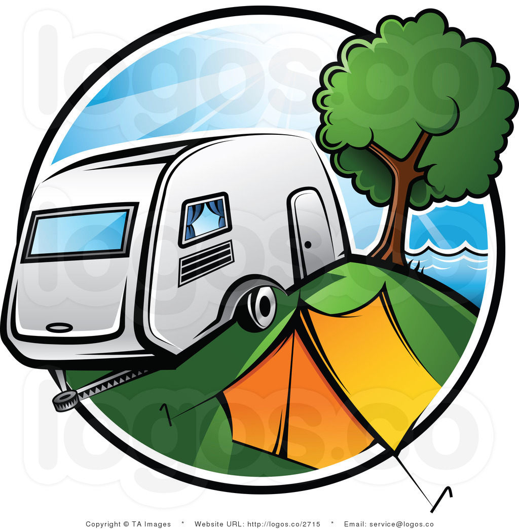 Popular Rv Trailer Cartoon Clipart