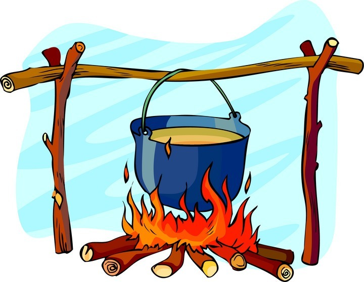 Image result for camp cooking clipart