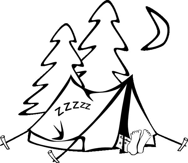 Tent clip art Free Vector