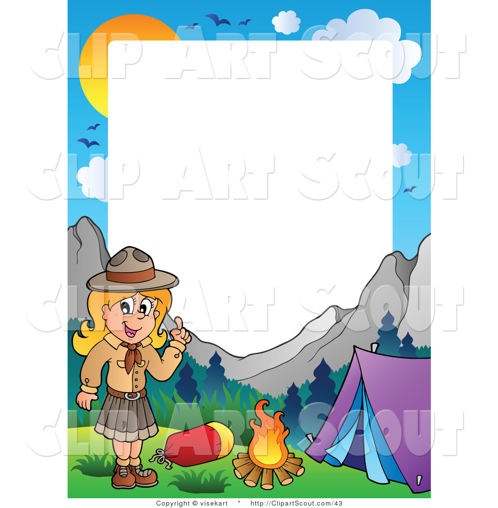 Girl Scout Camping Clipart Campground 20clipart |...