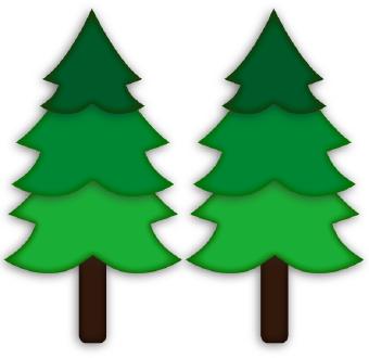 pine tree clipart clipart panda free clipart images rh clipartpanda com clip art pine tree border clip art pine tree divider