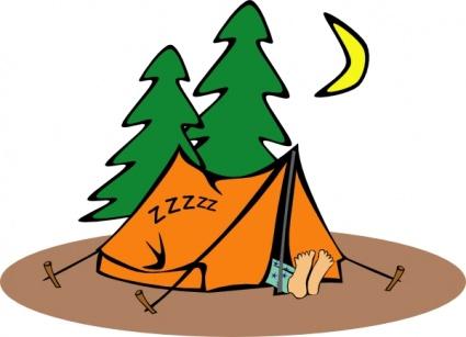 Výsledek obrázku pro camping cartoon
