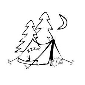 Camping At Night cartoon | Clipart Panda - Free Clipart Images