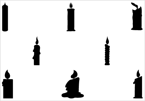 Candle Flame Vector | Clipart Panda - Free Clipart Images