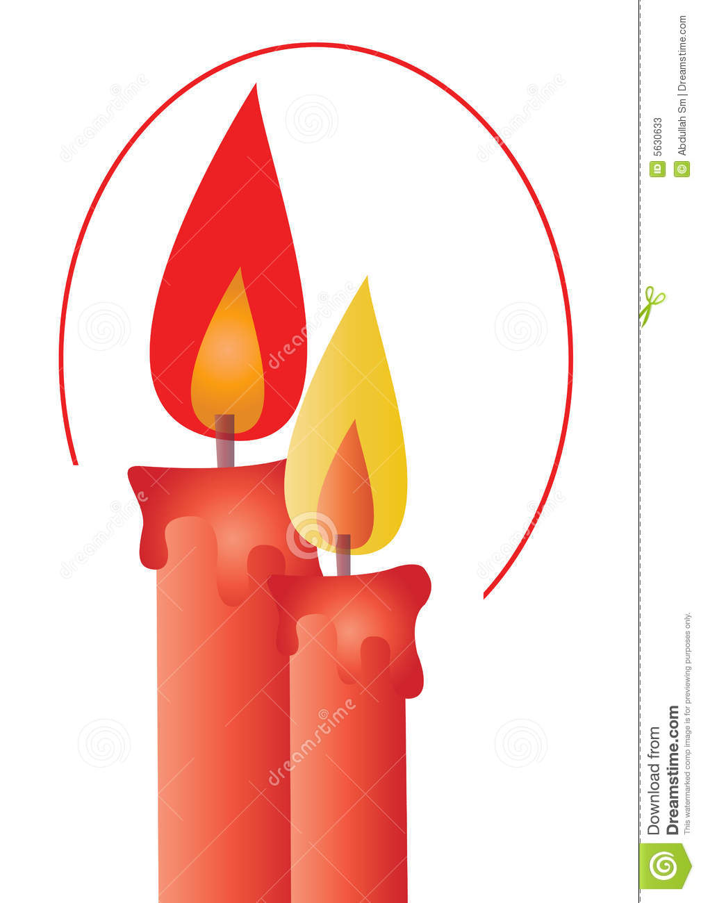 Clip Art Related Keywords & Suggestions - Christmas Candlelight Clip ...