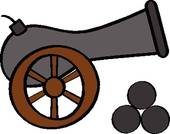 cannon 20clipart clipart panda free clipart images clipart cannonball falls out of the canon clip art cannon