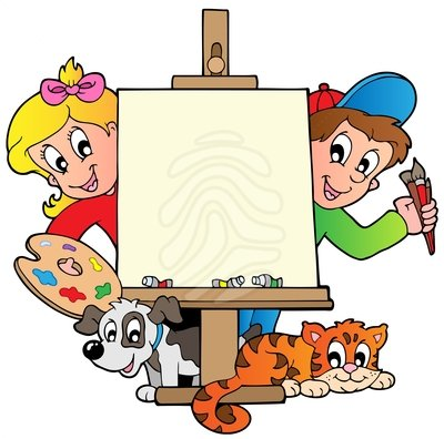Image result for cartoon kids art