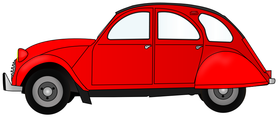 2cv red car clipart clipart panda free clipart images - Clipart voiture ...
