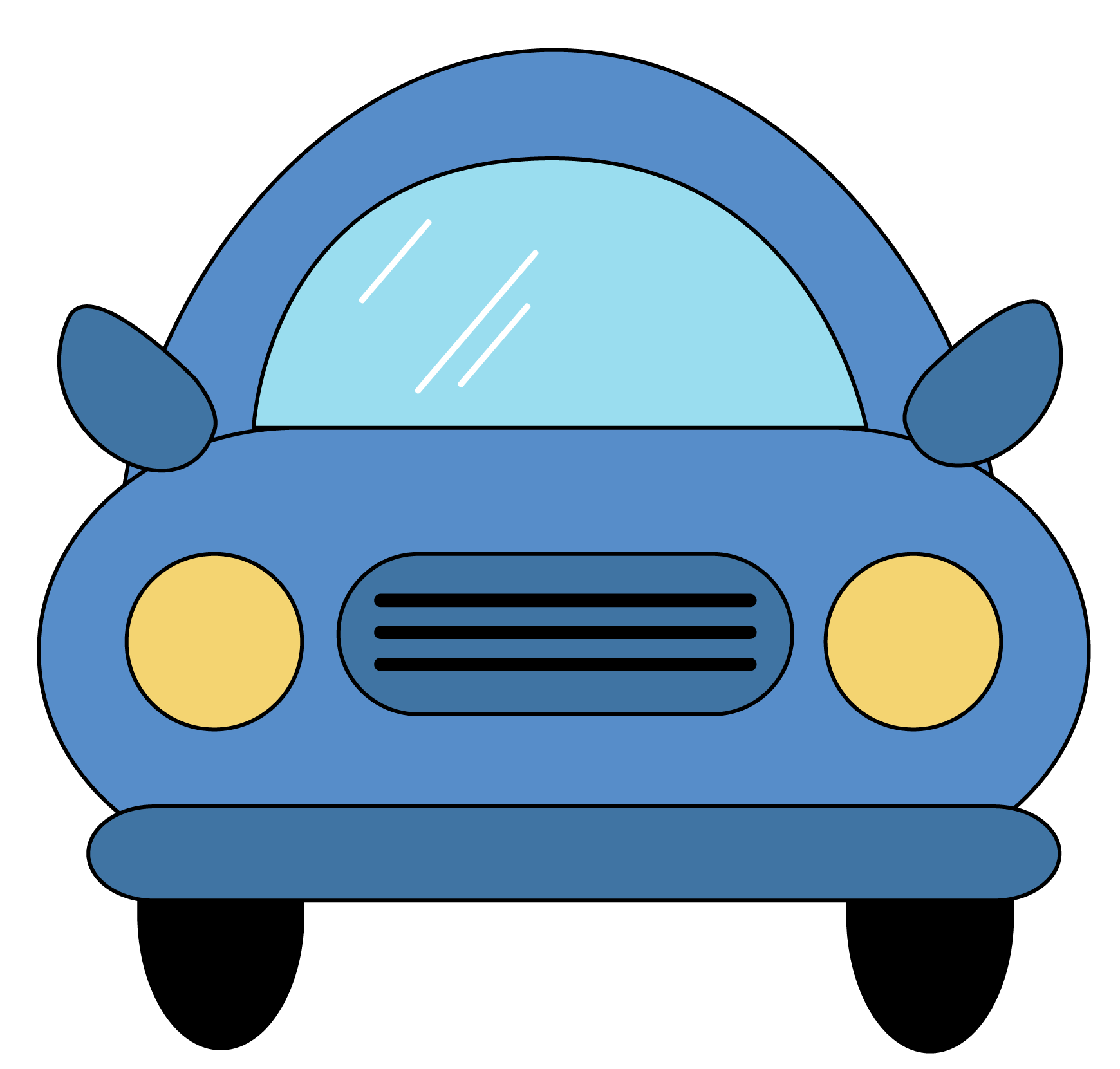 Car Clipart Front View | Clipart Panda - Free Clipart Images