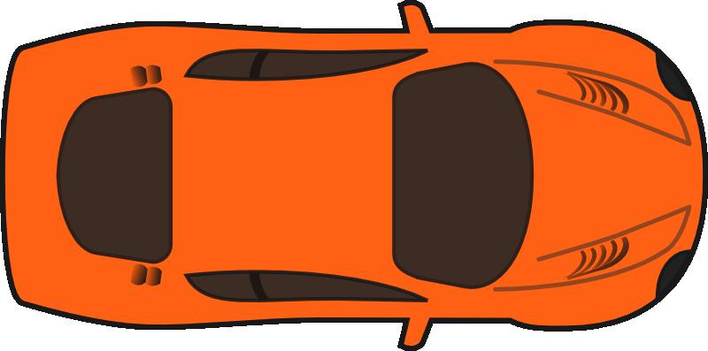 Racing Car Top View