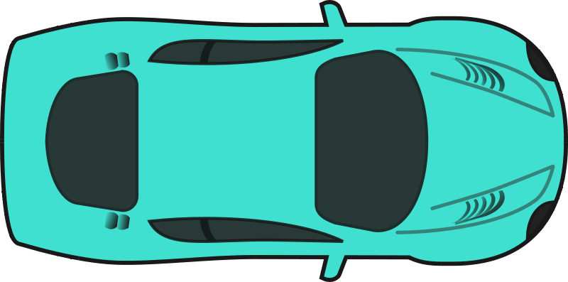 Turquois Racing Car Top View Clipart Panda Free Clipart Images