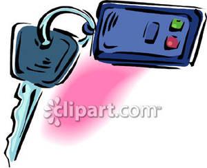 Car Keys Clip Art A Car Key | Cli...