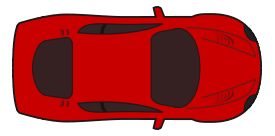 car-top-view-red racing car top view previewNascar Top View