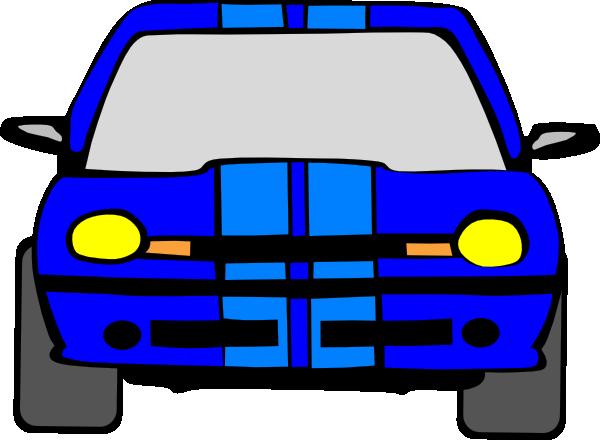 Blue Car Clip Art
