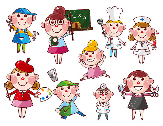 Career Clip Art Kids | Clipart Panda - Free Clipart Images