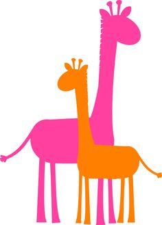 Baby Shower Giraffe Clip Art Giraffe Clip Art  caricature