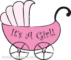 Its A Baby Girl Clipart