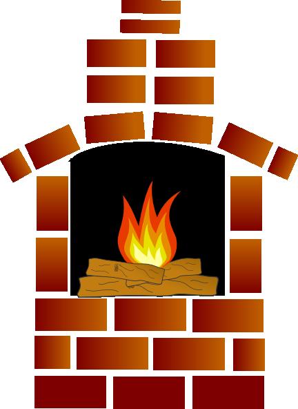 Cartoon Brick Fireplace | Clipart Panda - Free Clipart Images