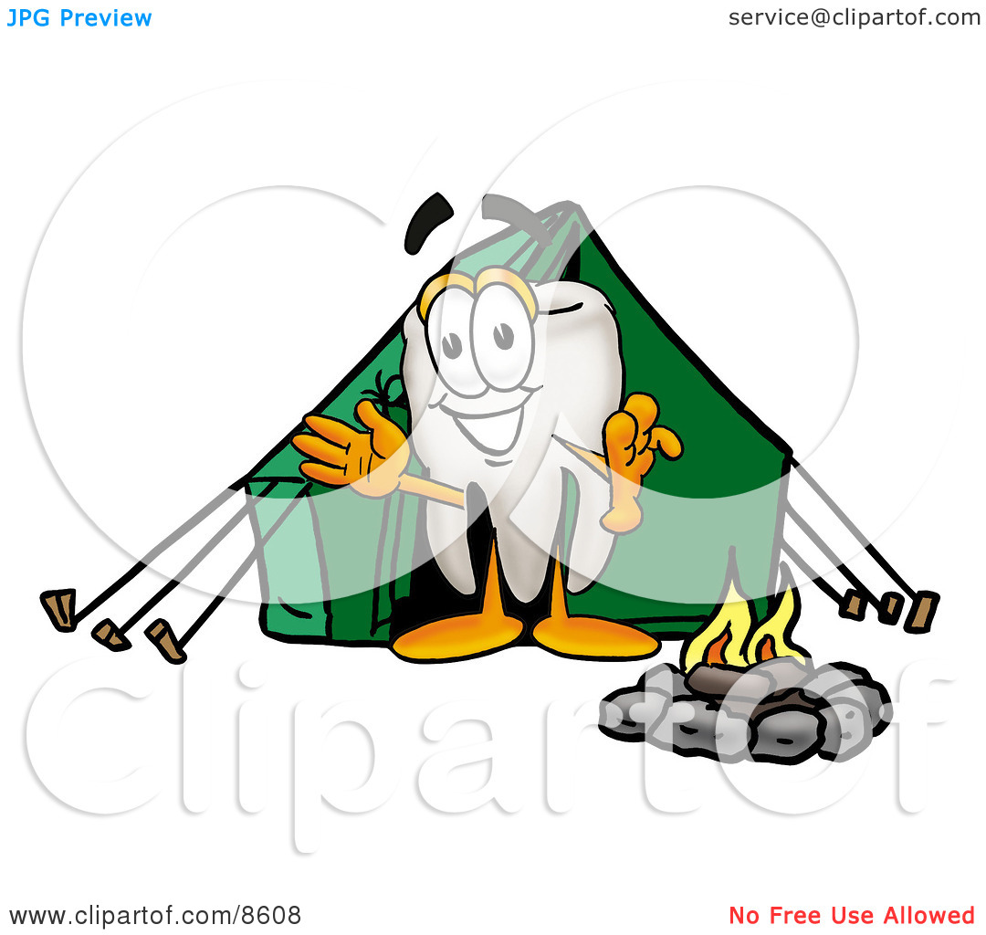 cartoon%20campfire%20and%20tent