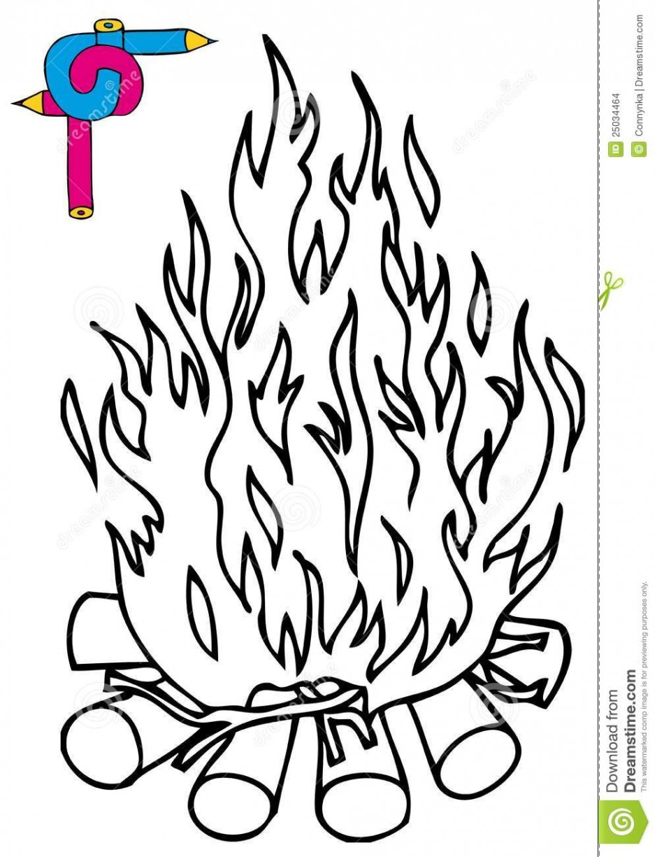 campfire-black-and-white-camp-fire-Colouring-Pages-page-2-940x1225.jpg ...