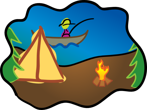 Cartoon Campfire Scene | Clipart Panda - Free Clipart Images