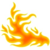 Cartoon Fire Border | Clipart Panda - Free Clipart Images
