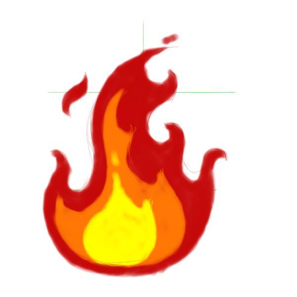 Fiery Car Crash Clipart