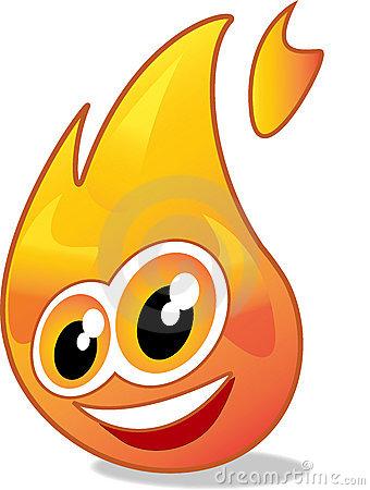 cartoon fire flames border clipart panda free clipart