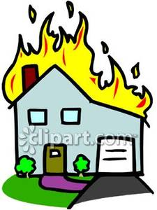 Cartoon House Burning | Clipart Panda - Free Clipart Images