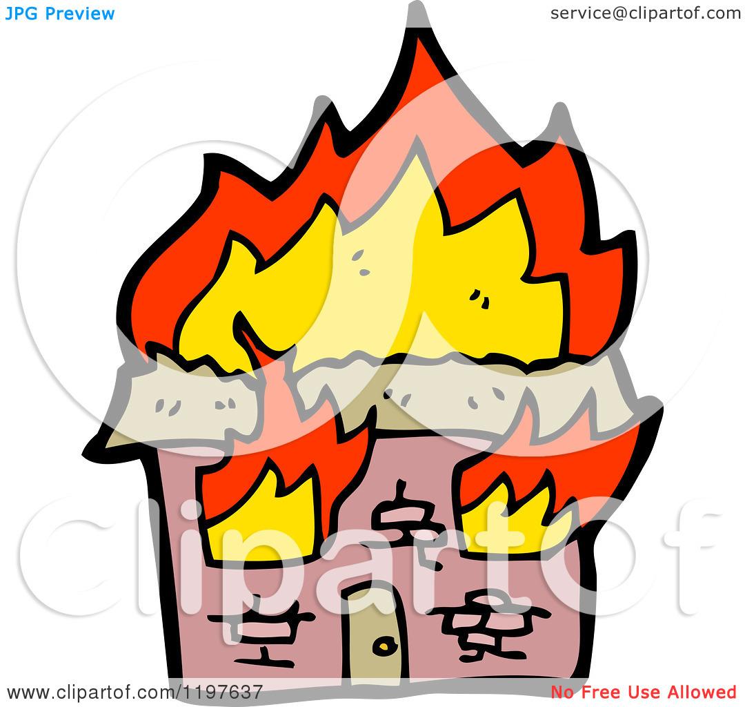 clipart burning house - photo #20