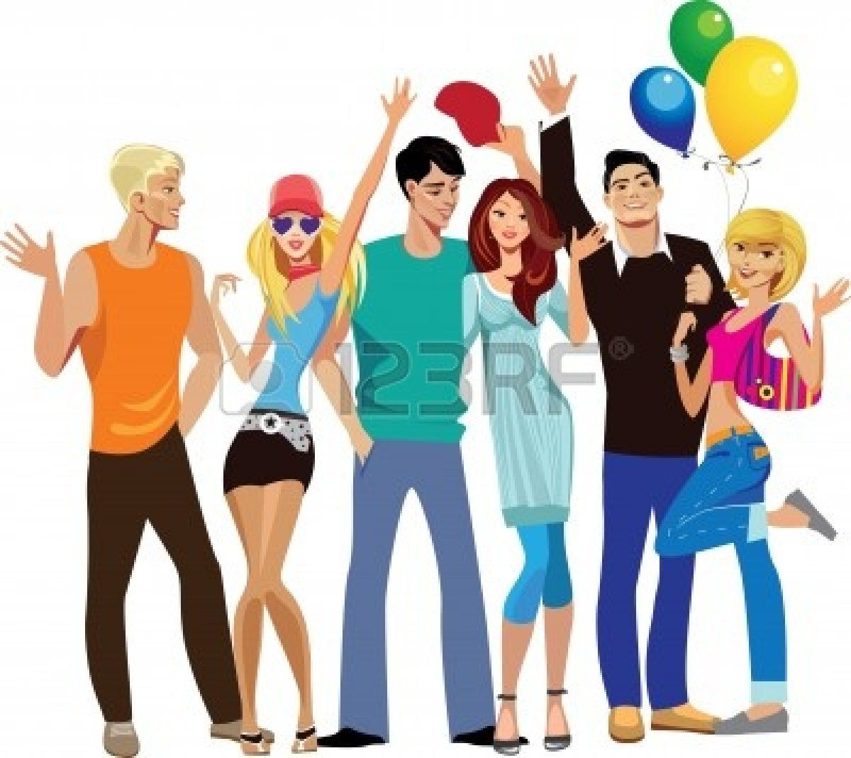 Group Of Happy People Clip Art | Clipart Panda - Free Clipart Images