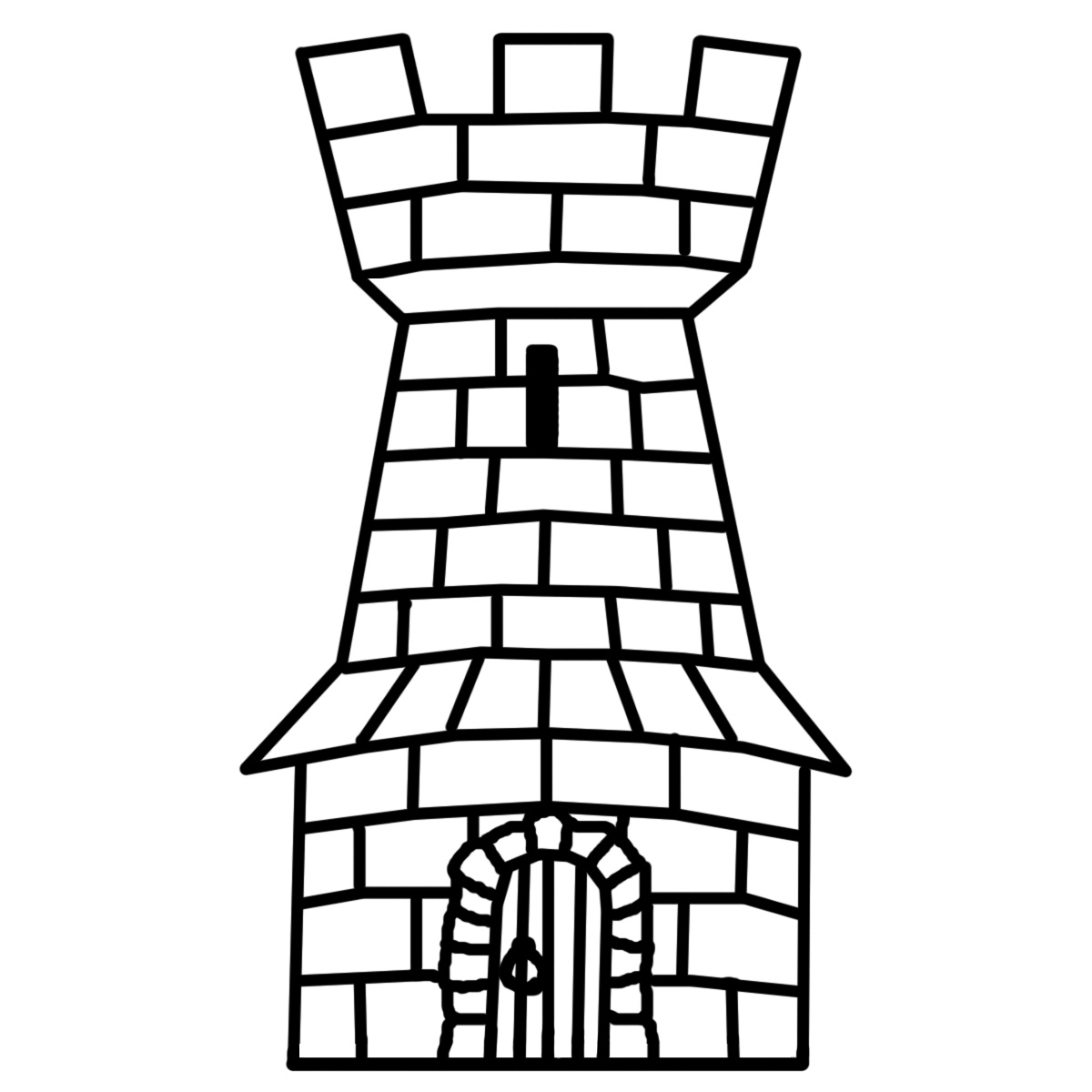 Castle Clip Art Black And White Castle%20clip%20art