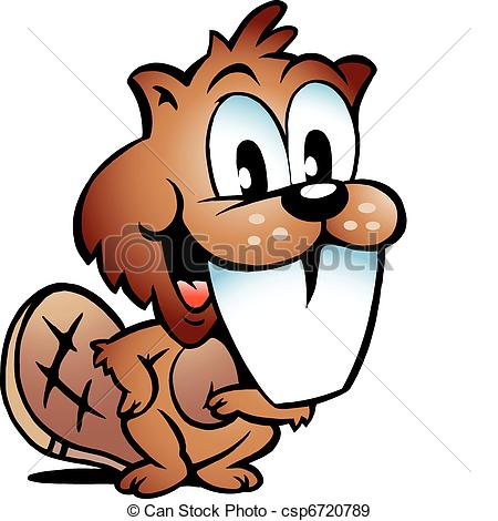 Beaver Clip Art Vector and