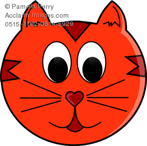 Red Cat Clipart