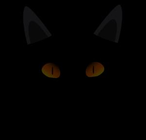black cat face clip art clipart panda free clipart images rh clipartpanda com cat face clip art black and white cat face silhouette clip art