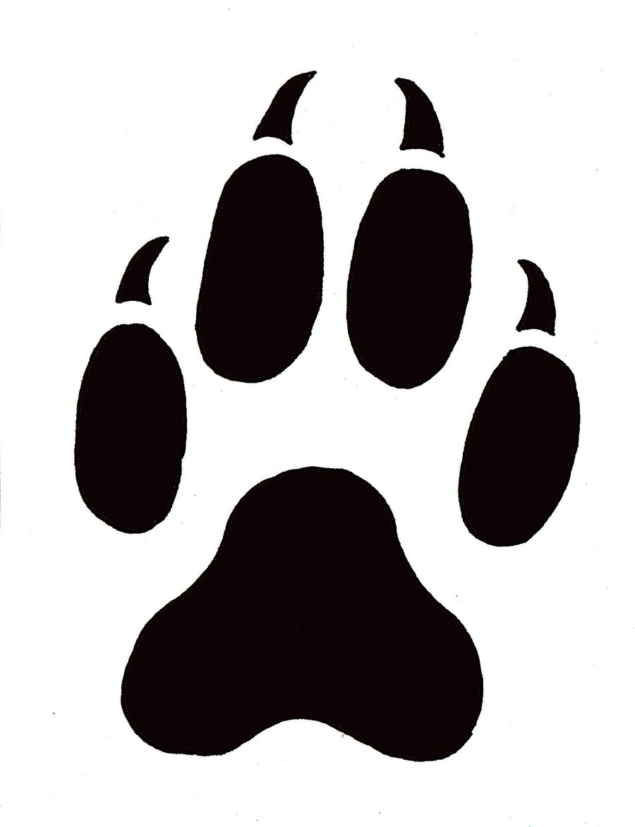 cat paw prints clip art clipart panda free clipart images rh clipartpanda com clipart paw print free clip art paw print border