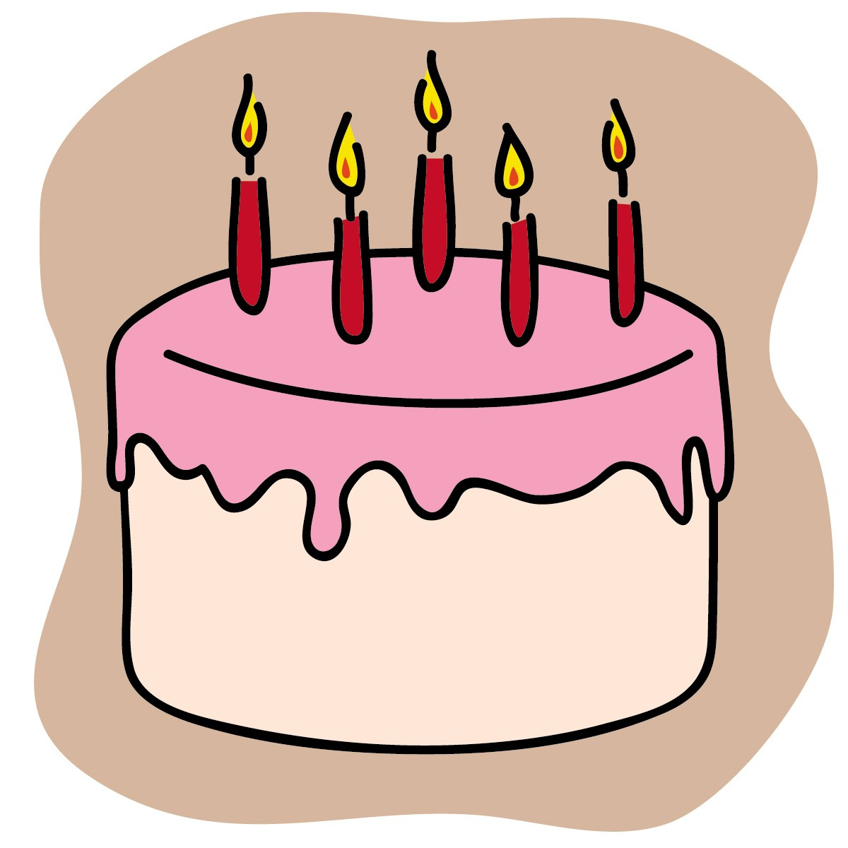 Cake Images Clip Art : Iron Cake Candle Cake Ideas and Designs