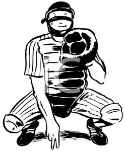 Catcher 20clipart | Cl...