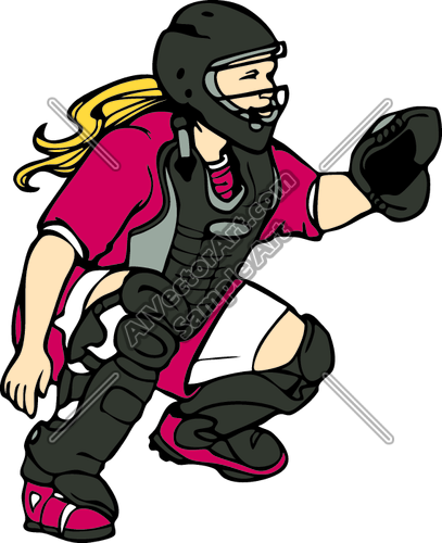Softball Field Clipart...